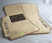 Vip tuning Ворсовые коврики в салон Infiniti QX-56 2004г> 2 ряда АКП 5дв. (JA60)