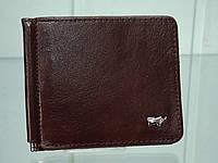 Мужской кожаный зажим для денег BRAUN BUFFEL 661 Brown