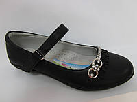 Чёрные туфли в школу