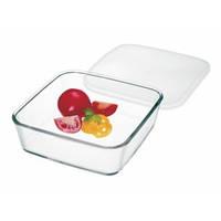 Eмкость для еды прямоугольная с крышкой Luminarc 7476 180*180*80 1 л