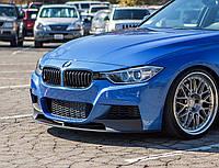 Сплитер юбка губа обвес BMW F30 F31 M-paket стиль M-Performance