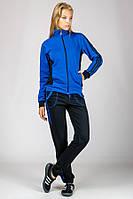 Женский спортивный костюм ярко-синий