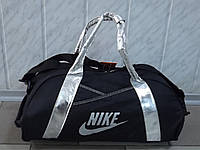 Женская текстильная спортивная сумка NIKE 0412 Silver
