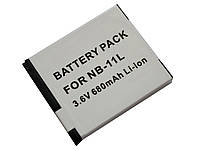 Аккумулятор NB-11L для фотоаппаратов CANON PowerShot  ELPH 110 HS, 320 HS, IXUS 125 HS, 240 HS - аналог