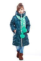 Стильная теплая курточка для девочки, фото 1