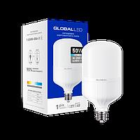 Высокомощная светодиодная лампа лампа Global Led 50W Е40 6500К