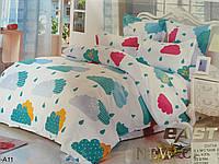 Красивое постельное белье евро East Comfort