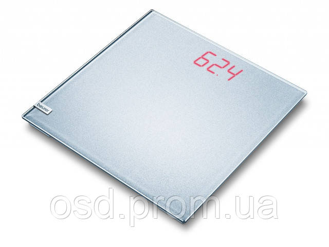 Весы дизайн Beurer GS 40 MAGIC PLAIN SILVER