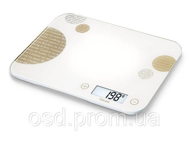 Кухонные весы Beurer KS 48 Cream