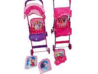 Металлическая коляска детская игровая