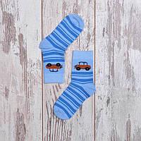 Детские носки для мальчика с машинкой Дюна
