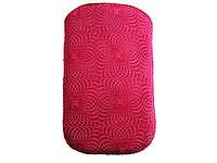 Чехол вытяжка Nokia X2/54 розовый