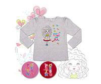 Блузка для девочки ТМ Фламинго, интерлок (артикул 200-212)