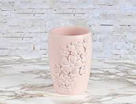 Стакан для зубных щеток Irya - Lisa розовый
