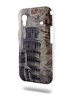 Чехол-крышка пластик New Samsung S5360 Пизанская башня