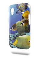 Чехол-крышка New Samsung S6102 Рыба