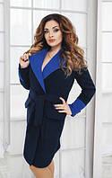 Пальто женское осень полу батал, фото 1