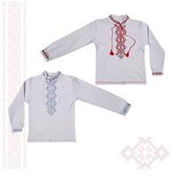 Вышиванка детская для мальчика Фламинго, интерлок (артикул 791-204)