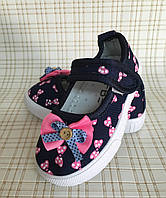 Детские туфли мокасины для девочек р.22-25