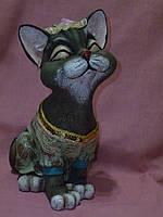 Копилка Кошка с пробкой 28х17х13