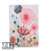 Обложка для паспорта Цветы маки