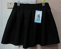Юбка черная для девочки 7,8,9 лет