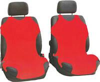 Майки автомобильные 1+1 цвет красный