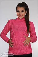 Очень теплый свитер для беременных Alisan, из полушерстяной нити, розовый