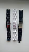 Годинник у вигляді ремішка, чорний або білий