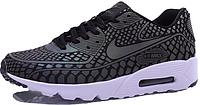 Мужские кроссовки Nike Air Max 90 Light Reflection (найк аир макс) черные