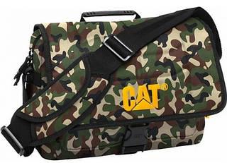 Практичная повседневная сумка 9 л. с отделением для ноутбука CAT Millennial 82942;147 камуфляж