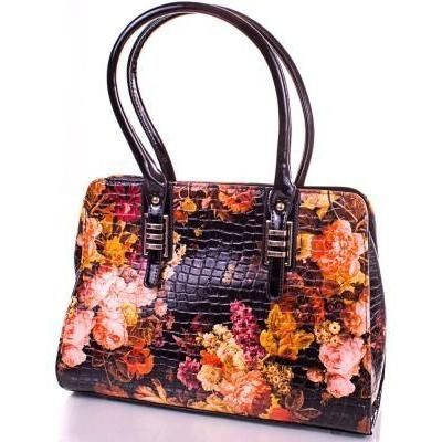 Оранжевая женская сумка из качественного кожезаменителя ANNA&LI (АННА И ЛИ) TUP14305-3