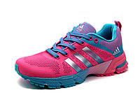 Кроссовки Adidas Marathon TR 15, женские/подросток, розовые, р. 36 37 38 39 40, фото 1
