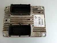 ЭБУ блок управления двигателем 1.4i Fiat Doblo / Фиат Добло 2008, 51798636 / 672Y2B12H / 51794959