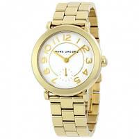 Часы Marc Jacobs Riley Gold Tone MJ-MJ3470