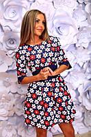 Платье женское на спинке зазтёжка-молния, фото 1