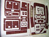 Mersedes Vito W638 1999-2003 накладки на панель Meric V-класс цвет карбон