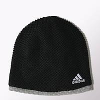 Шапка мужская зимняя теплая Adidas Climaheat Beanie M66812