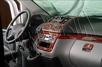 Mersedes Vito W639 2004-2015 накладки на панель Meric цвет карбон