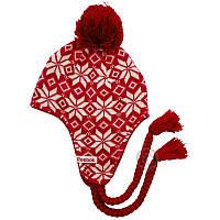 Детская шапка ушанка с помпоном Reebok FLAP BEANIE W36772