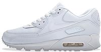 Мужские кроссовки Nike Air Max 90 Essential (найк аир макс) белые