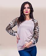 Блузка женская леопард, фото 1