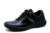 Туфли мужские Gekon, кожаные, спортивные, черные, р. 39 40 41 42 43 44 45, фото 1