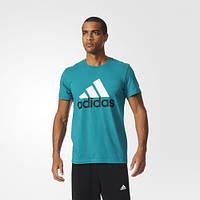 Футболка с логотипом Adidas Essentials Logo AK1796