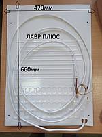 Испаритель для холодильника (плачущий испаритель 1-но канальный) 470*660мм