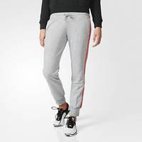 Брюки женские adidas Essentials 3-Stripes Pants AY4799 серые - 2016/2
