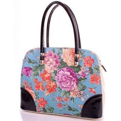 Женская качественная сумка из кожезаменителя ANNA&LI (АННА И ЛИ) TUP14146-12-1 (бежевый)