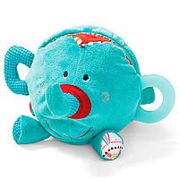 Lilliputiens - Развивающая игрушка-книга слоник Альберт