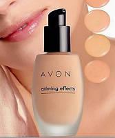 Тональный крем для лица с успокаивающим эффектом, Avon Calming Effects, Light Nude, 55848
