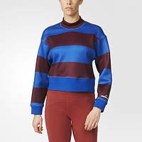 Женский джемпер adidas Run Striped Sweatshirt AZ7694 - 2016/2